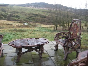 Fabulous views from Heather Cottage