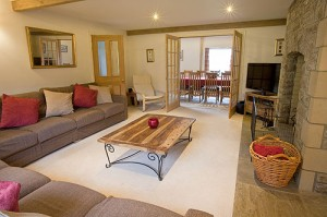 Dovedale Holiday Cottage Lounge