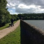 Linacre path along reservoir